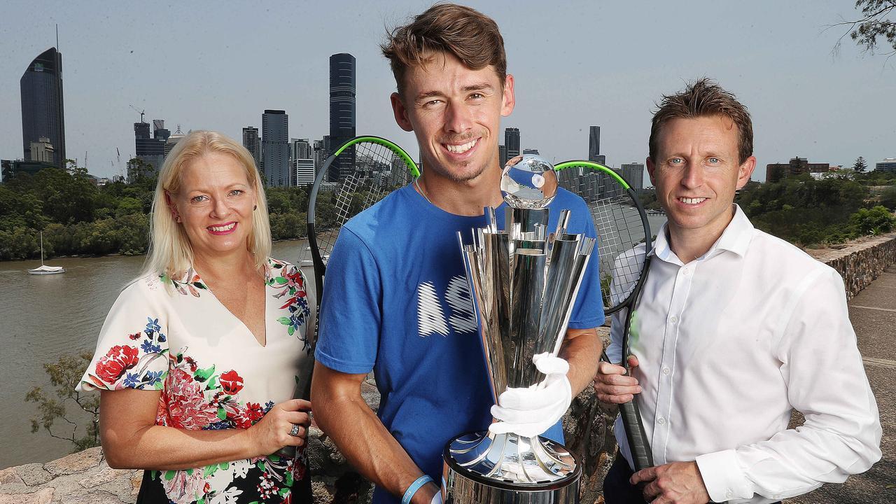 Alex de Minaur is ready for the ATP Cup. Picture: Annette Dew