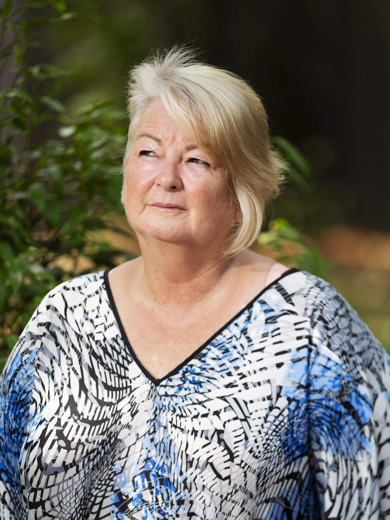 Lynda McCormack has found some relief after consulting the Queensland Pelvic Mesh Service. Picture: Attila Csaszar, AAP.