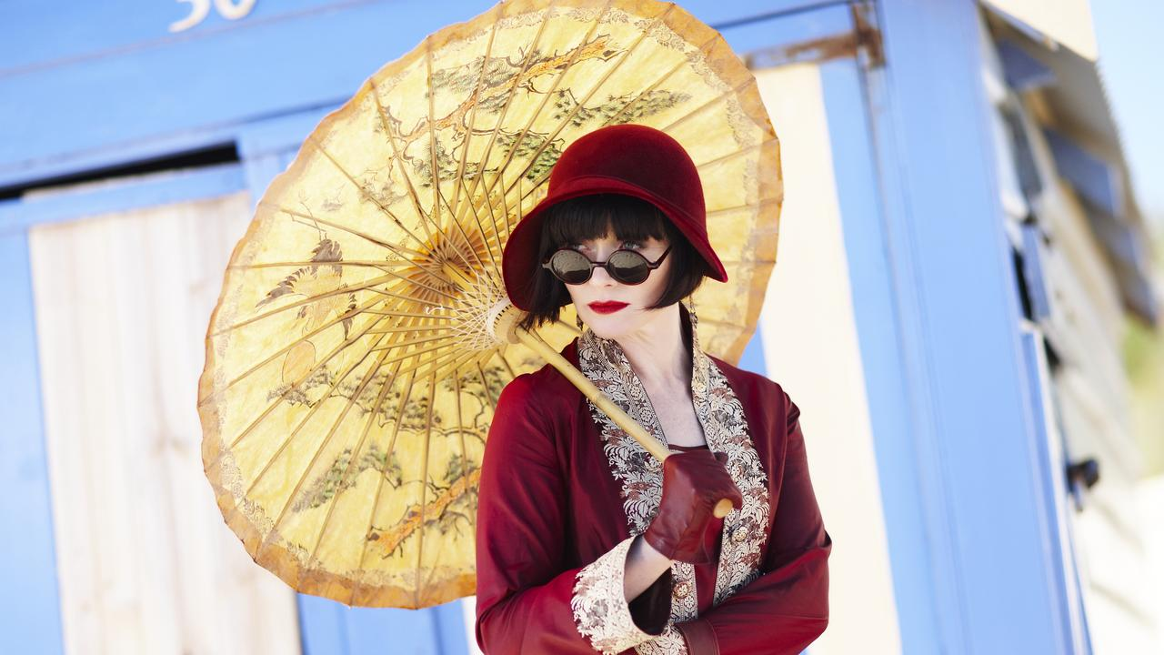 Essie Davis was perfect as the irrepressible Phryne Fisher