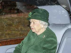 Queen's lonely church visit without Philip