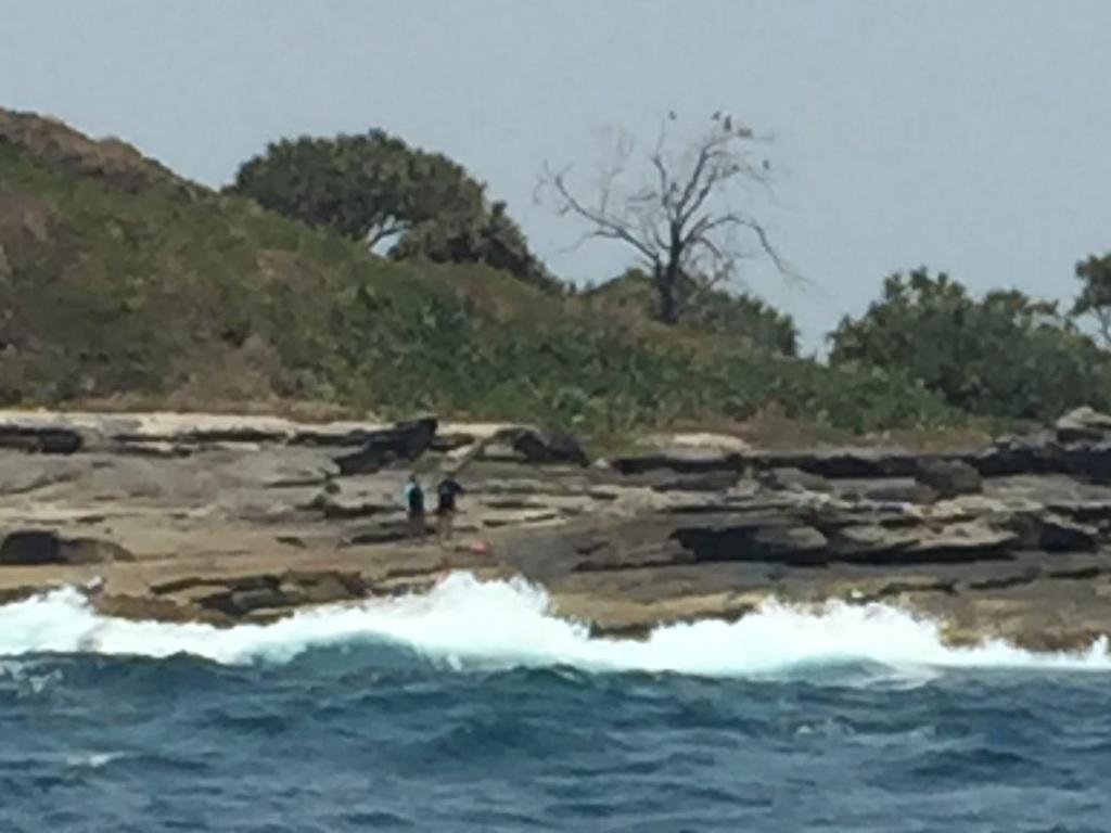Coast Guard Mooloolaba helped rescue two women off Old Woman Island when their jet ski crashed into rocks.