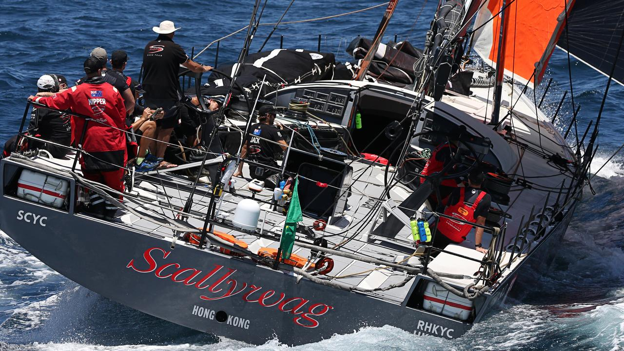 The Hong Kong yacht Scallywag is crewed by a predominantly Australian team based out of Sydney.