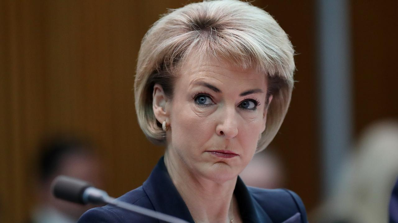 Senator Michaelia Cash at Parliament House in Canberra. Picture: Kym Smith