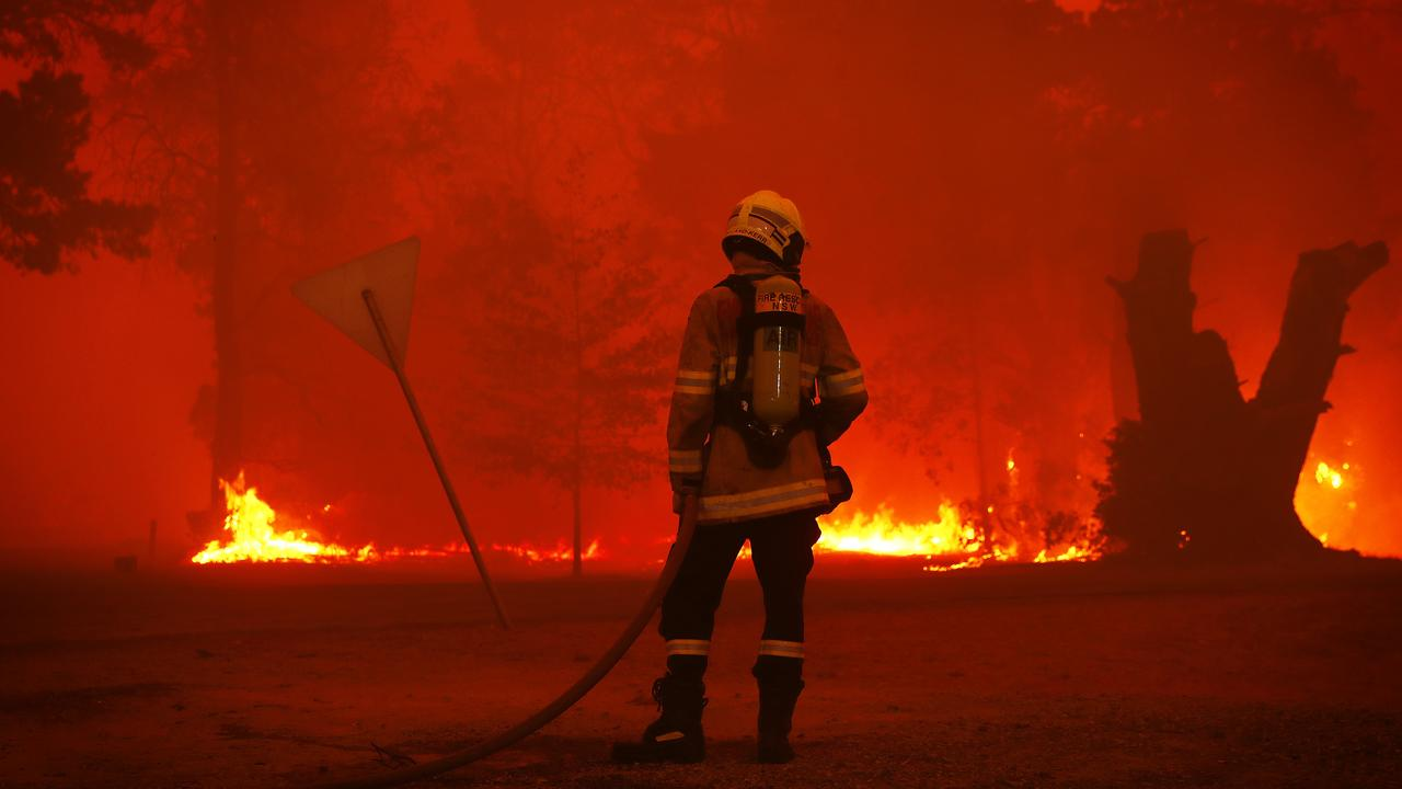 The bushfires have taken their toll on many. Picture: Sam Ruttyn/News Corp Australia