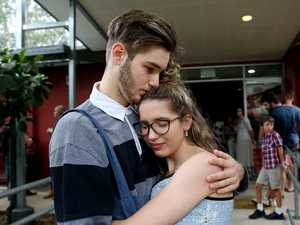Tearful church service reflects on teens killed in crash