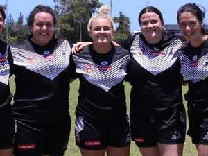 Lower Clarence ladies to fight for Titans tackle squad spots