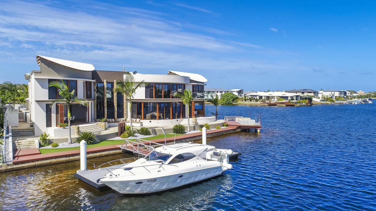 The premium property sits on Pumicestone Passage and is easily accessible from Caloundra and Brisbane. Photo: Contributed