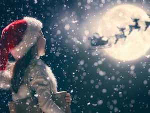 Santa's 'magic' way of travelling around Earth
