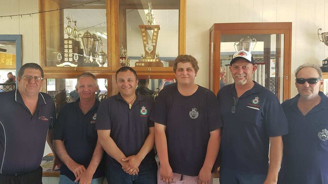 SOCIAL MEDIA IMAGE DISCUSS USE WITH YOUR EDITOR – GOLF GURUS: John Bancroft and Woodenbong RFS members, Terry Clements, Shaun Green, Ethan Reid, Greg Gulliver & Les White who raised $3,000 at the annual Golf Day and Melbourne Cup Calcutta held last month.