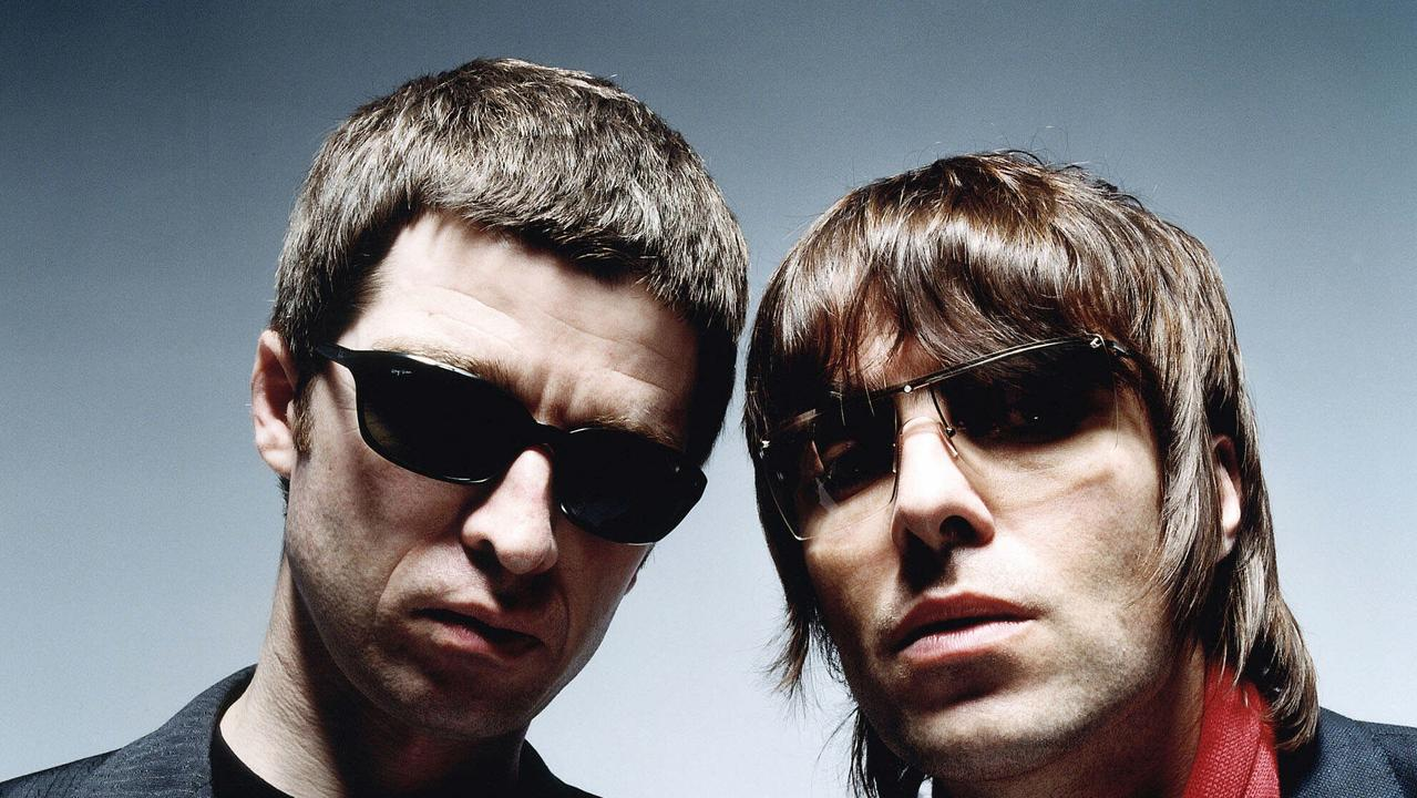 Noel and Liam Gallagher have been feuding for a decade. Picture: Supplied