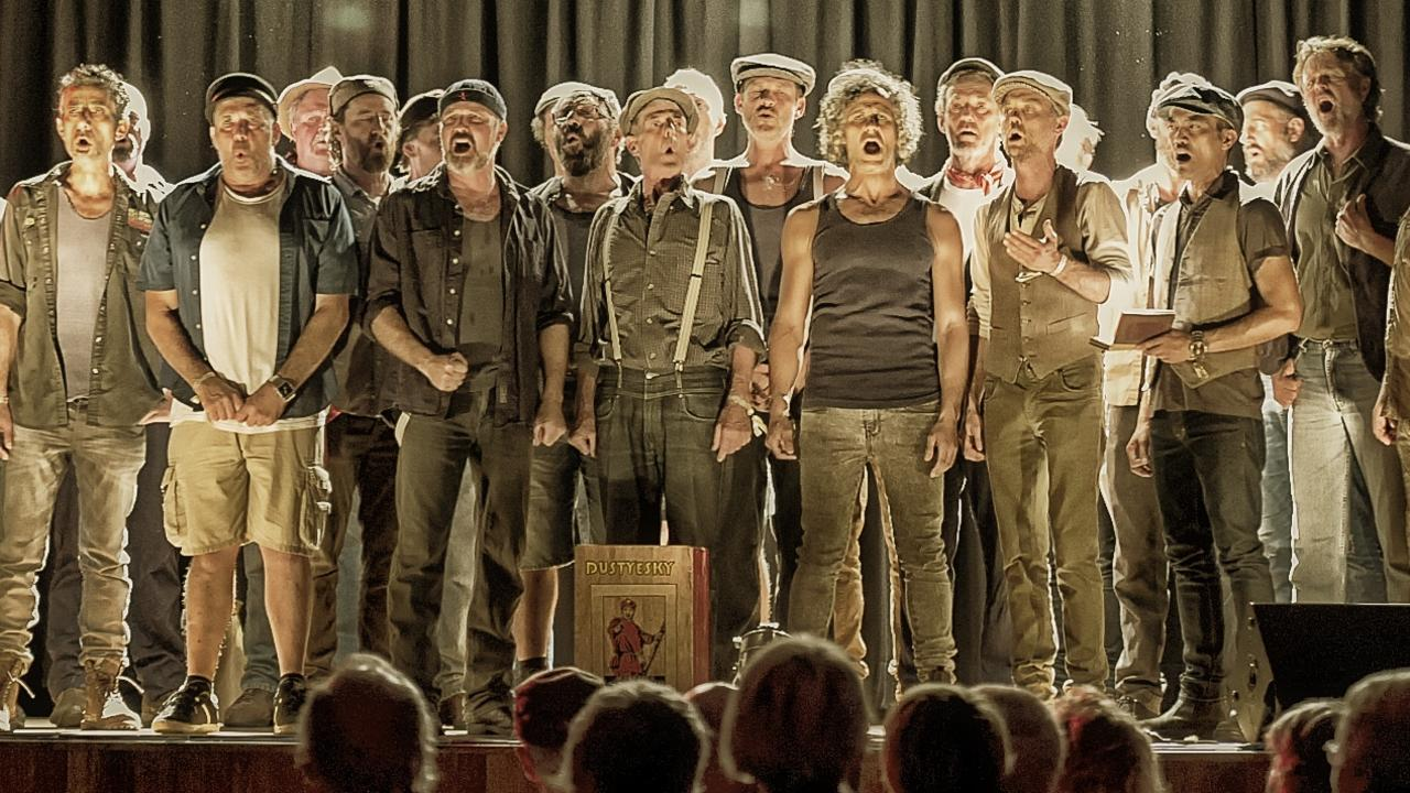 Mullumbimby's Russian choir Dustyesky return for their third outing at the Woodford Folk Festval. Photo: Supplied.