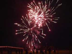 BACK ON: Fireworks to go ahead across region