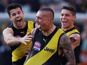 AFL: Tigers triumph amid trolls and tragedy