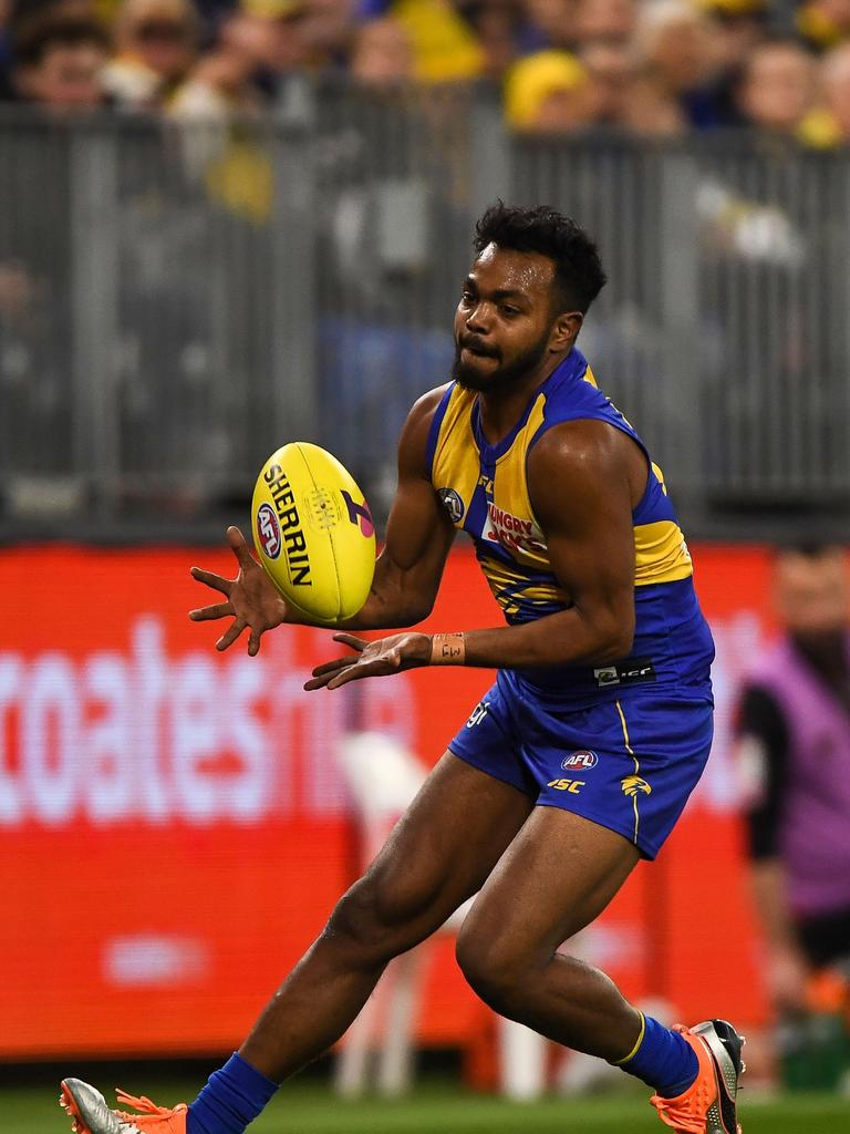 Willie Rioli is facing a four-year ban. (Photo by Daniel Carson/AFL Photos)
