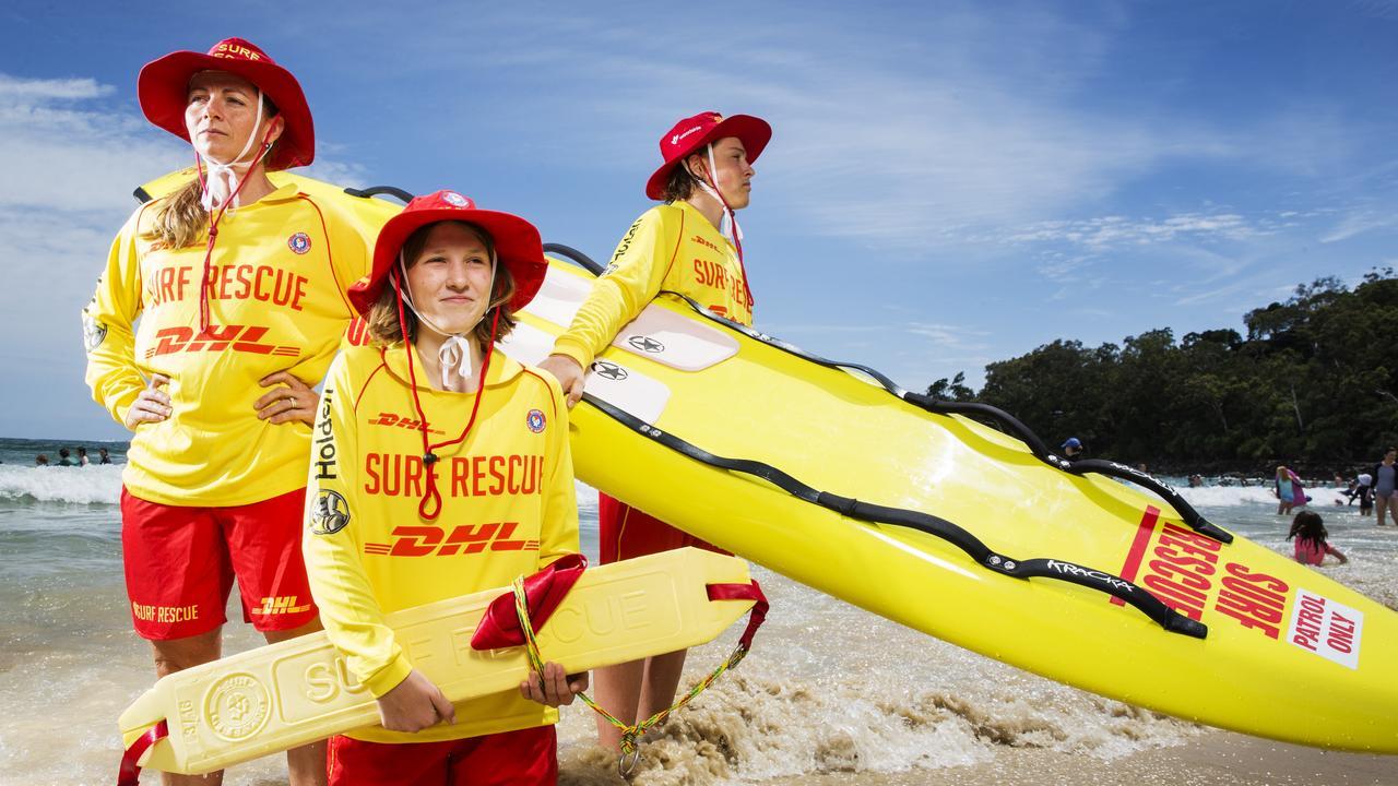 Noosa Lifesavers will be on patrol this Christmas period. Photo Lachie Millard