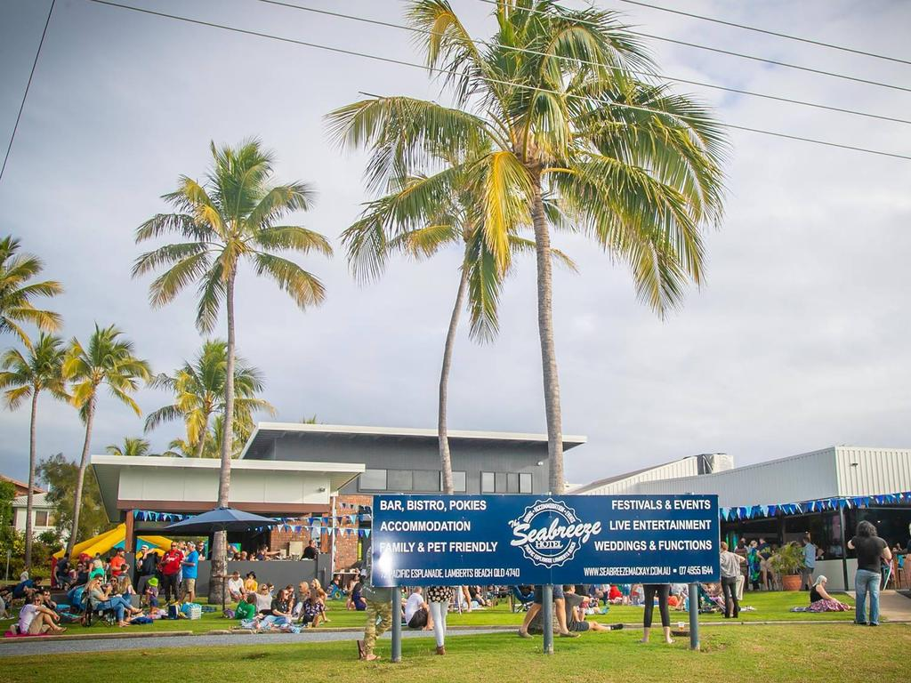 Enjoy a live music event at the Seabreeze Hotel on Sunday. Picture: Cherry Hughes.