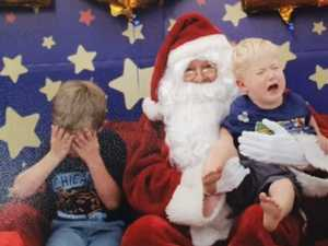 SMILE: Cute Santa pics from the Whitsundays