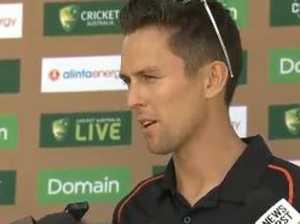 Kiwi quick shreds reporter, teammates