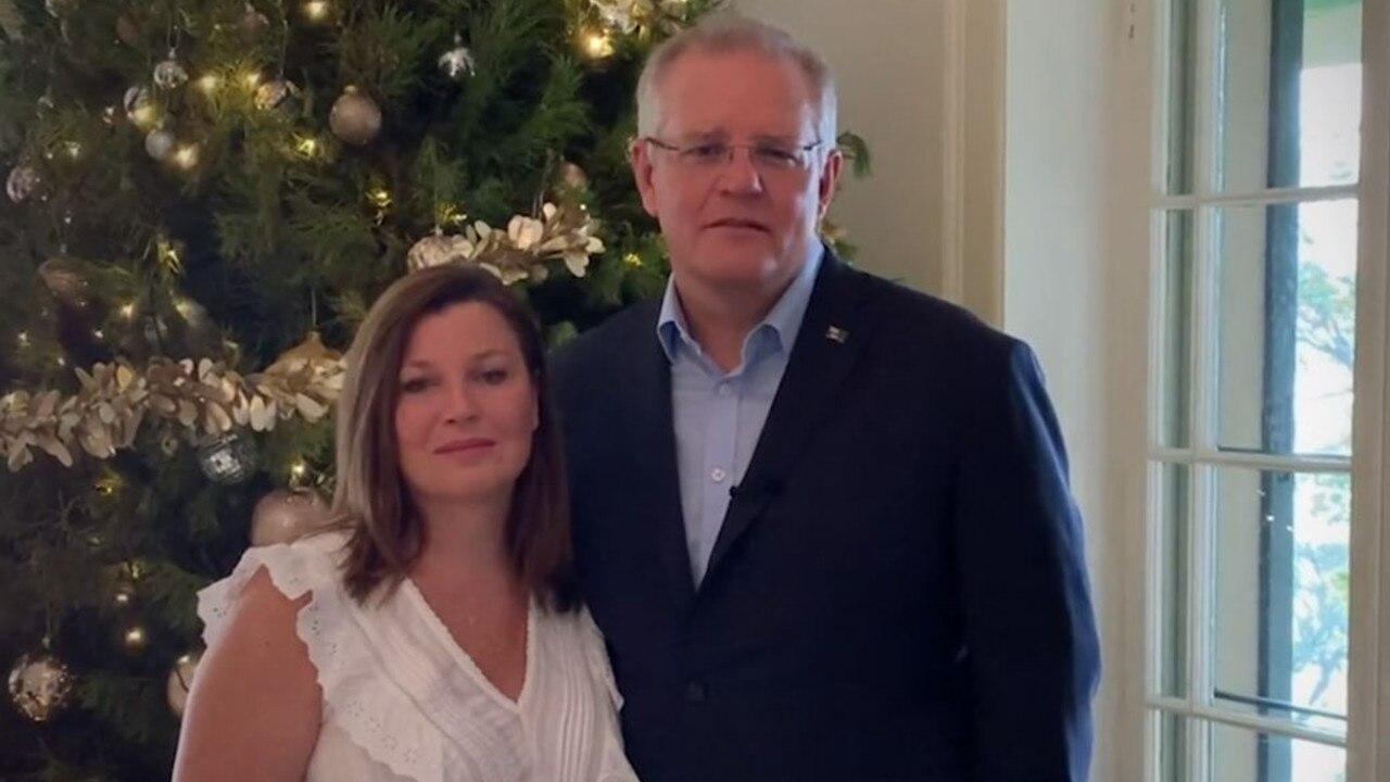 Scott and Jenny Morrison extend Christmas greetings to Australia.