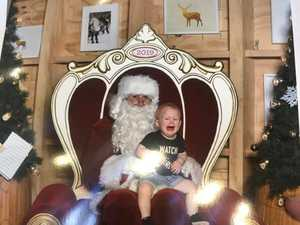 PHOTO GALLERY: Smiles, tears, and Santa