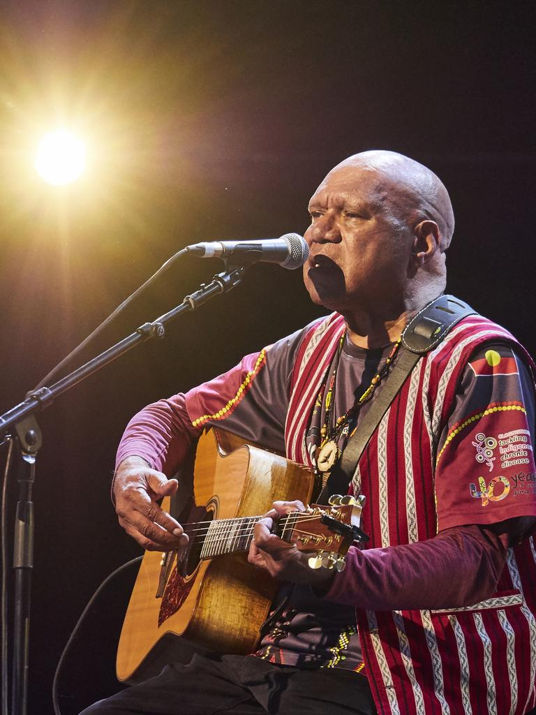 Archie Roach will debut his new show at the Woodford Folk Festival. Photo: Flacko Man.