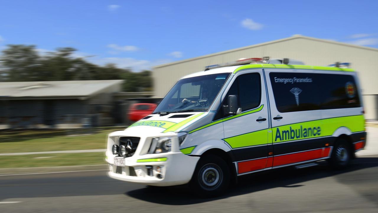 Queensland Ambulance Service paramedics are en route.