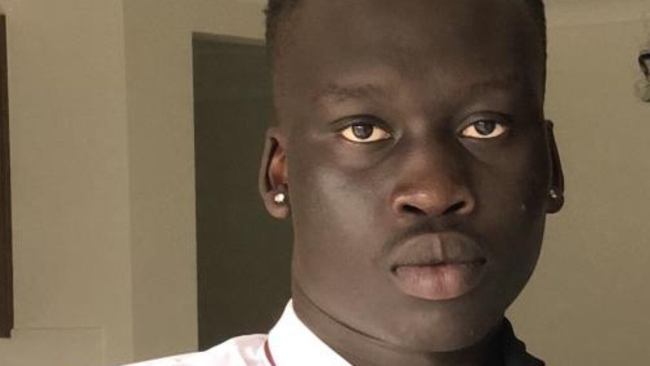 Aguer Akech Lual, 17, died from injuries he suffered during a fight on Sunday.