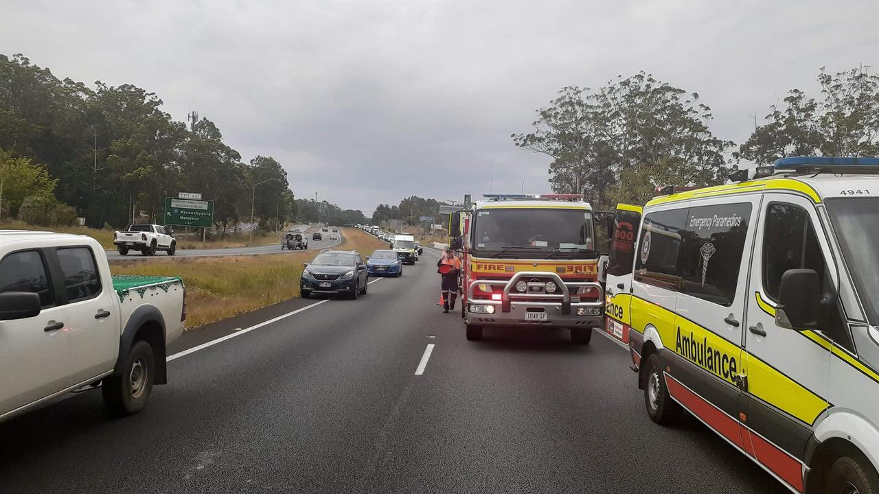 It's looking like a nightmare afternoon on the Bruce Highway. Photo: Contributed