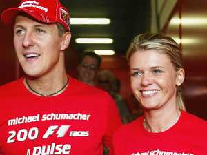 Wife issues rare Schumacher message