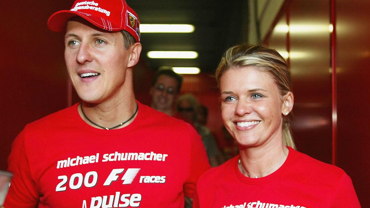 Corinna has been fiercely private about details of Schumacher's condition.