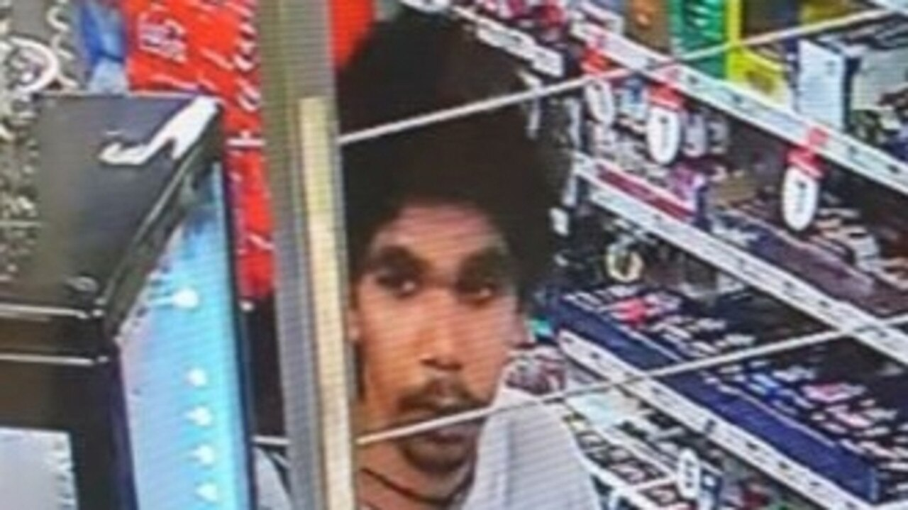 Police are looking for this person in relation to a robbery in Park Avenue this morning