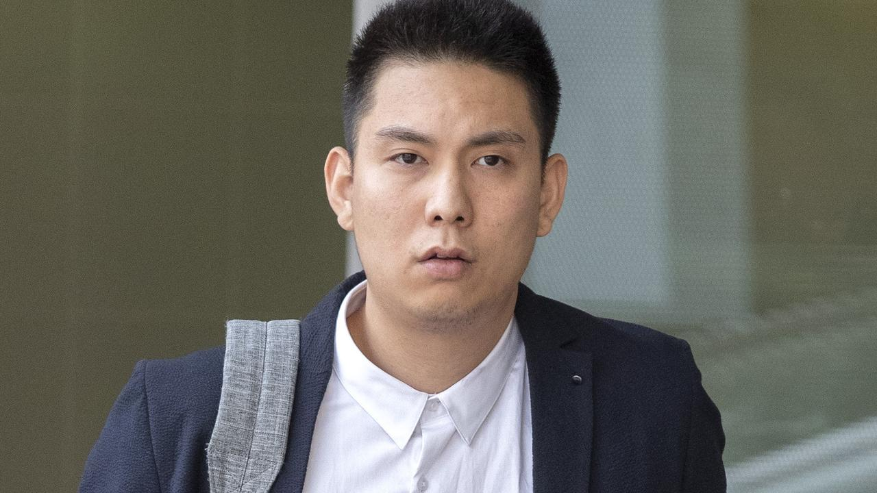 Tyng-Yeu Yan leaves Brisbane watchhouse. Picture: Richard Walker/AAP