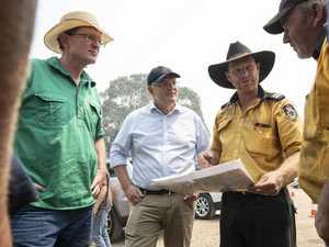 Morrison feels heat as nation battles fires