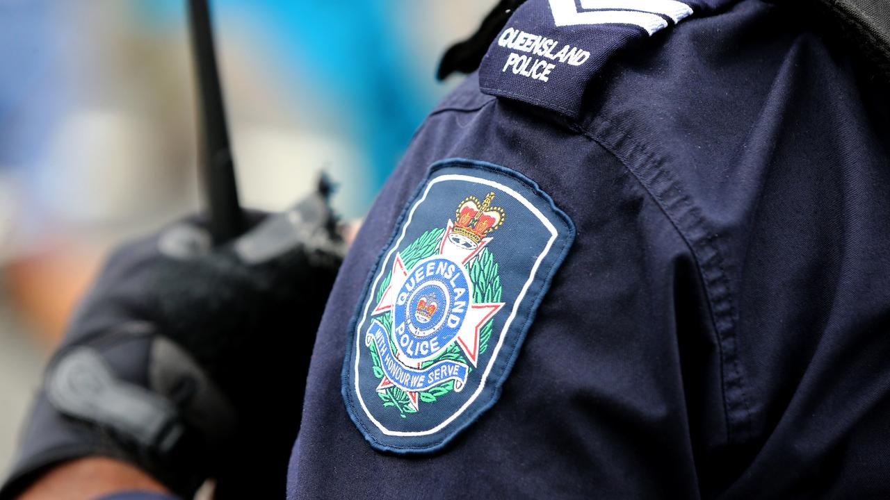 Two Whitsunday cops were injured after a driver allegedly rammed the police vehicle during a random breath test. Picture AAP/David Clark