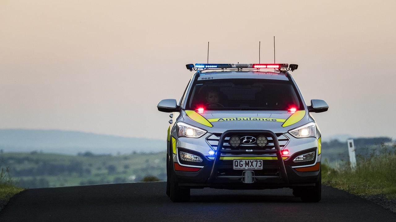 Paramedics were called to an incident involving an all-terrain vehicle late last night.