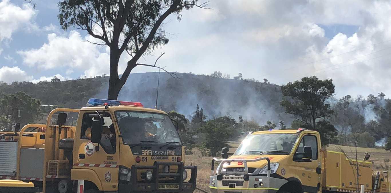 Fire crews on scene at Taroomball