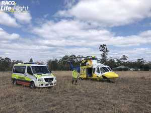 Woman seriously injured in farming accident