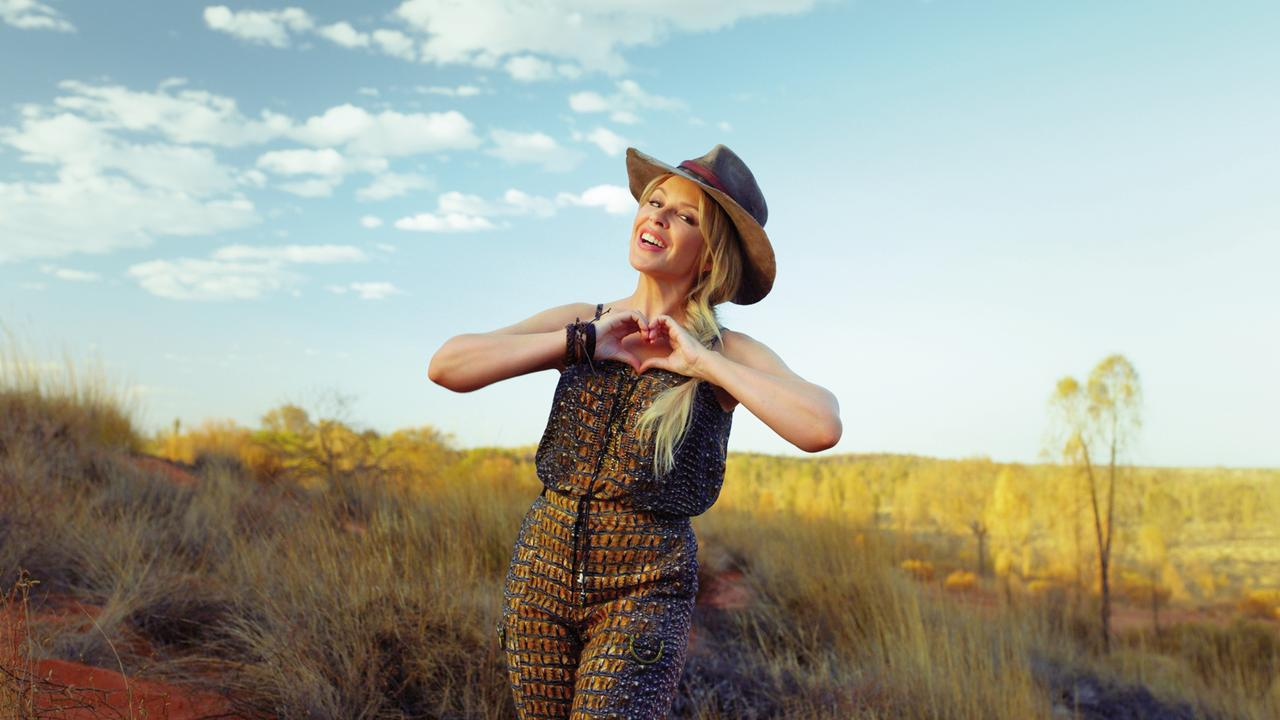 Kylie Minogue is the new face of Australian tourism in the UK. Pic: Tourism Australia