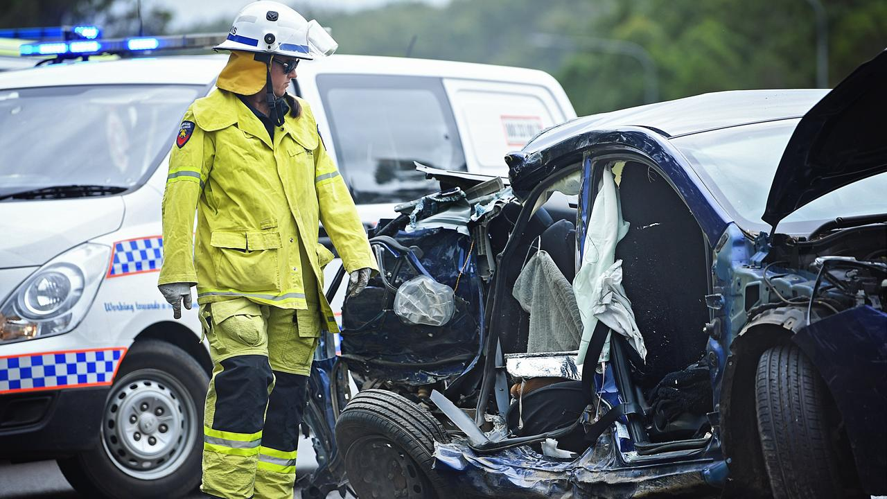The intersection of the Bruce Highway and the Wide Bay Highway reported the highest number of serious crashes in the past decade.