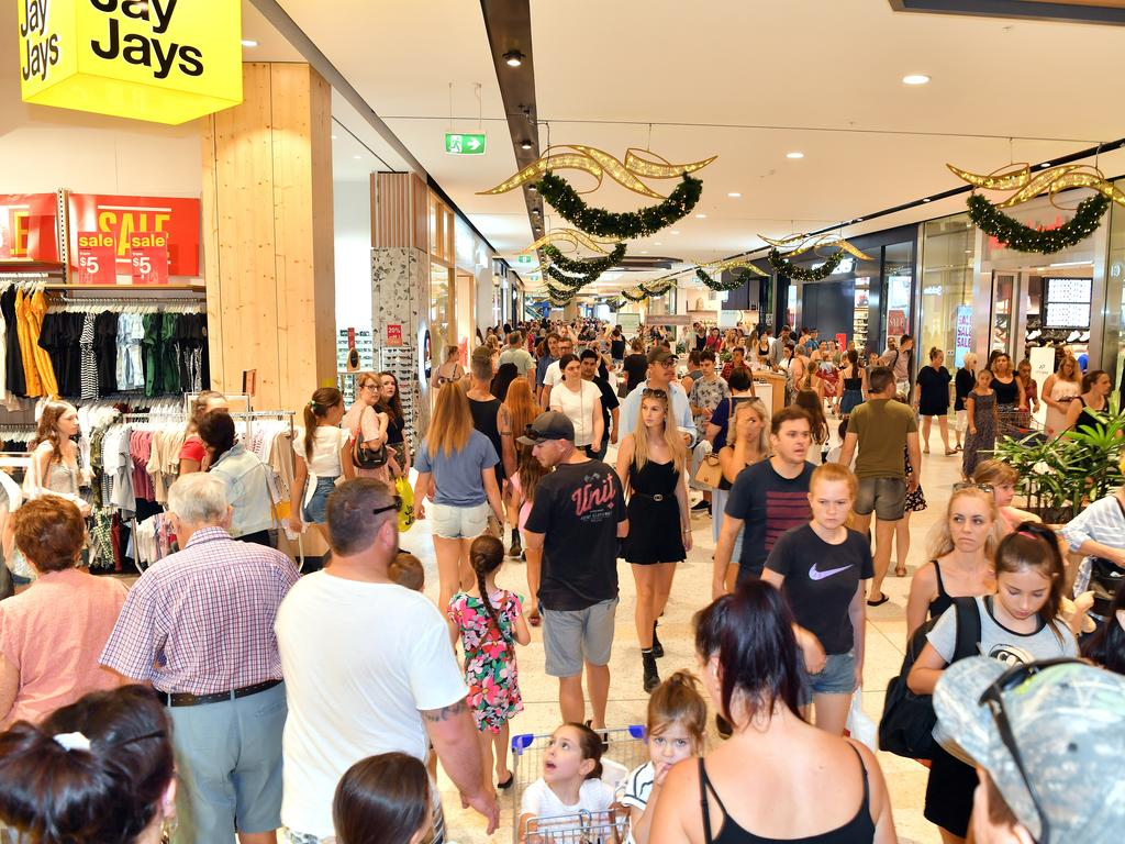 Boxing Day sales at Sunshine Plaza. Picture: John McCutcheon / Sunshine Coast Daily