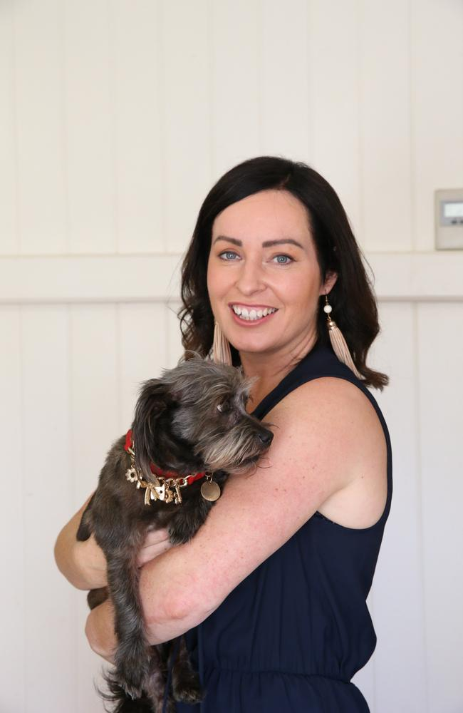 Brisbane business owner Francesca Webster has already preserved the DNA of her beloved dog Scampy. Picture: David Kelly