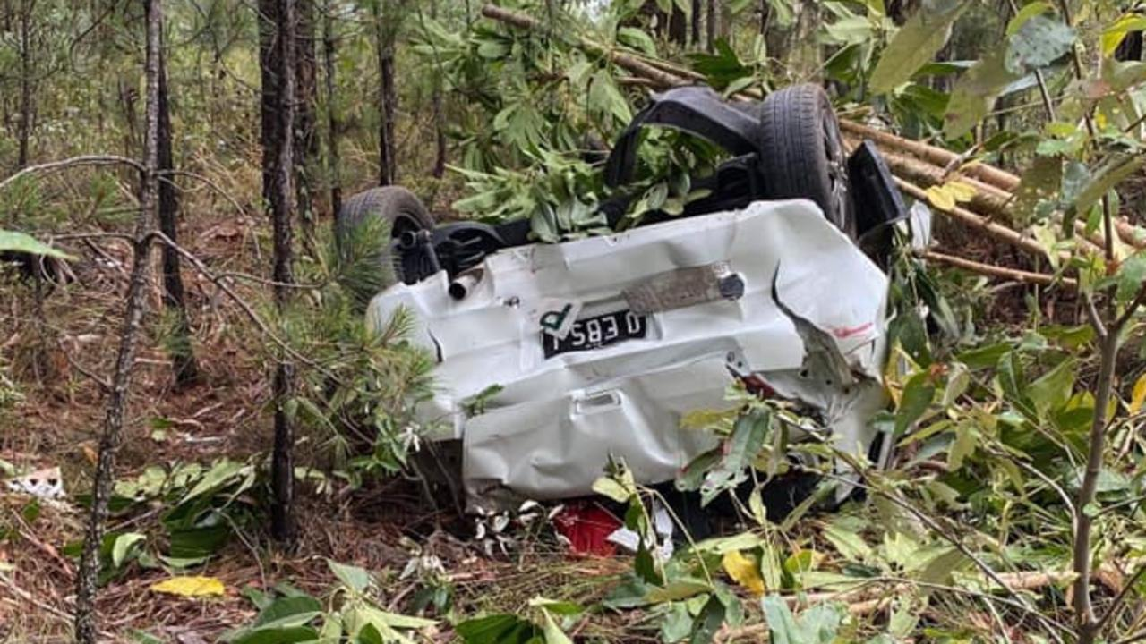 Mr Rich said his daughter had worked hard to save for her Suzuki Swift, which was no completely written off. Photo: Contributed