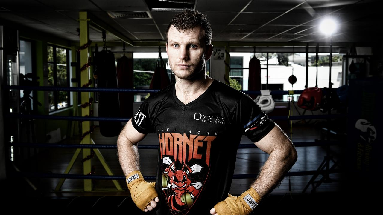 Australian boxer Jeff Horn has embraced the idea of fighting at Queensland Country Bank Stadium. (Photo by Bradley Kanaris/Getty Images)
