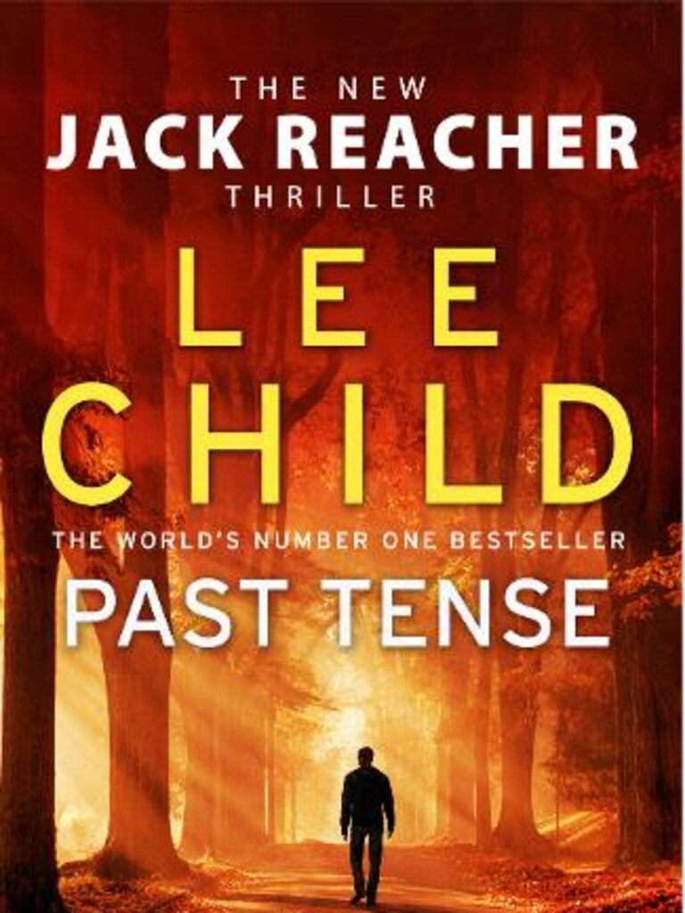 Lee Child Past Tense cover