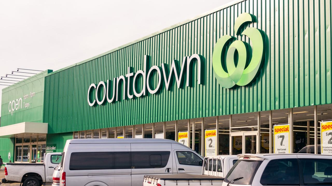 Woolworths rebranded all the Woolworths stores in New Zealand to Countdown, albeit with the familiar Woolworths logo. Picture: iStock.