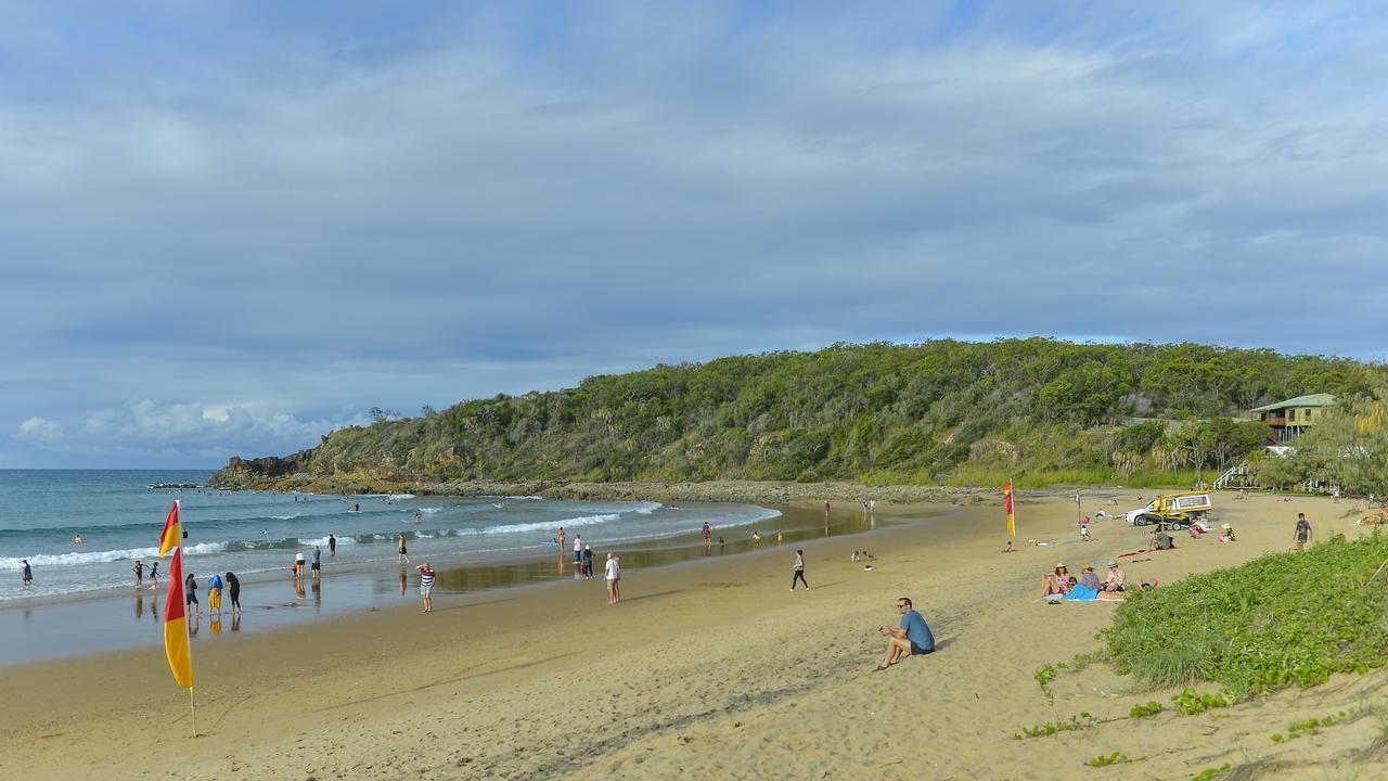 BUMPER SEASON: Agnes Water main beach.