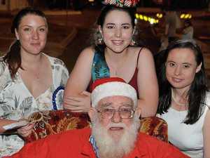 GALLERY: Santa starts his Christmas duties in Wondai