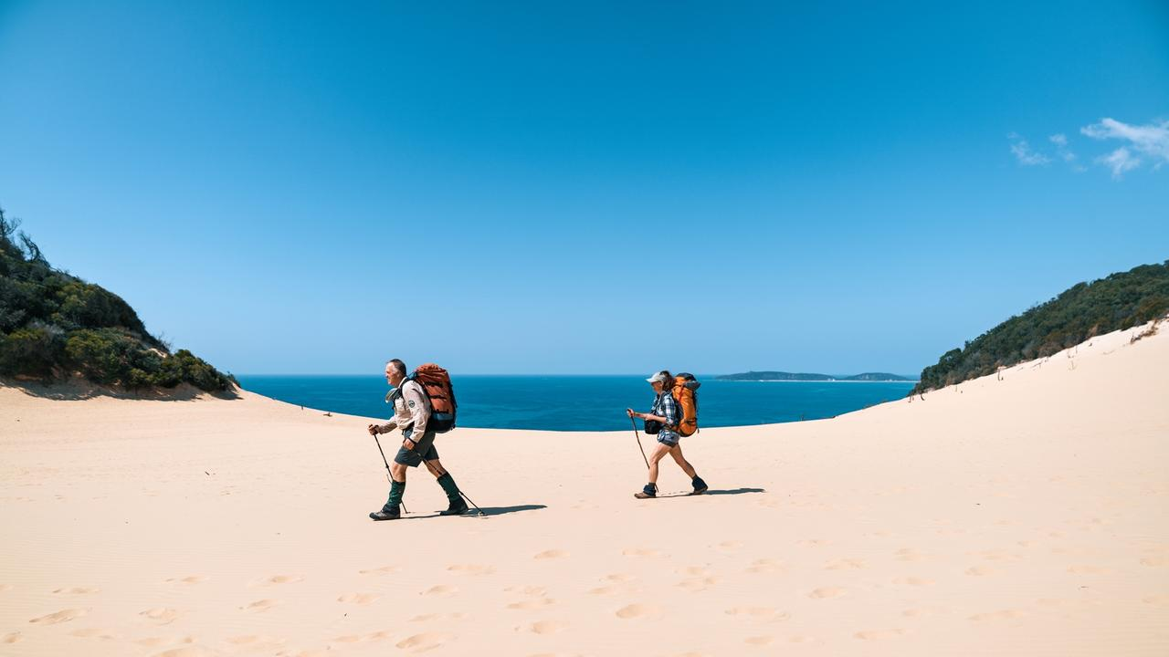 An expansion on the Cooloola Great Walk is expected to lure thousands. Picture: Reuben Nutt