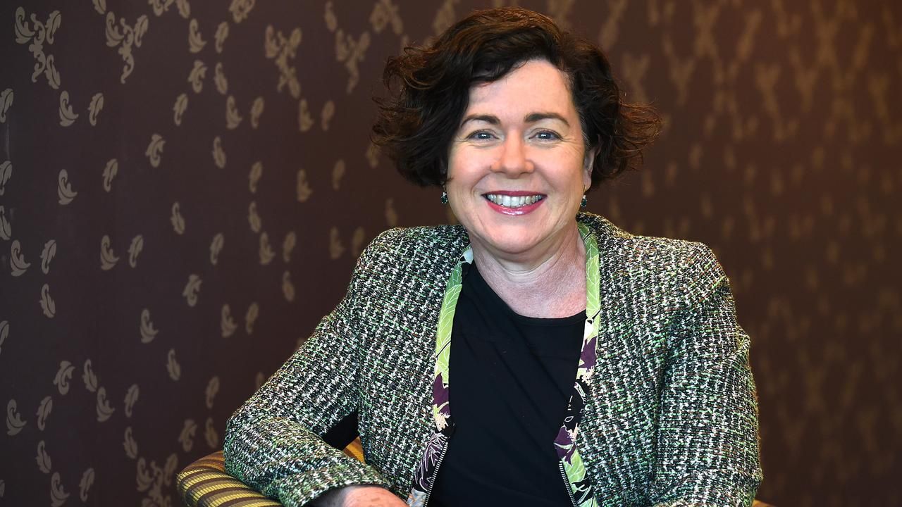 Rebecca Treston QC is the first female president of the Queensland Bar Association. Picture: AAP image/John Gass