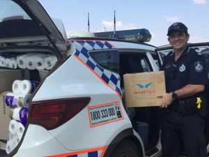 Wondai police help our struggling farmers